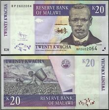 MALAWI PLANTATIONS THE TEA HARVEST POISSONS TILAPIA FISHES FISCHE 20 KWACHA 2009
