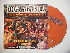 B.O.F. 100% ARABICA : LES OMBRES DE LA CITE ♦ CD SINGLE PORT GRATUIT ♦