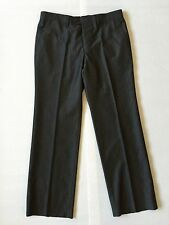 Versace Collection Mens Dark gray Pants 50 US 34 Short hemmed 34x29.5