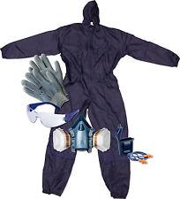 Arbeitsschutzset Overall, Brille, Ohrstöpsel, Handschuhe, Lackiermaske 3M 50733