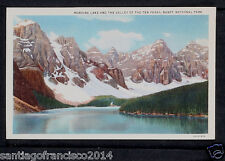 CANADA 225-ALBERTA -Banff, Moraine Lake and The Valley of The Ten Peaks.