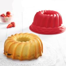 Pan Ring Shaped Cake Pastry Bread Mold Tray Mould Bakeware Kitchenware