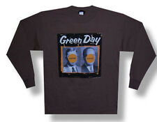 Green Day-Nimrod-1998 Tour-X-Large Longsleeve Brown T-shirt
