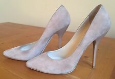 Jimmy Choo RARE Mimi Suede Heels in Macaroon/Light Pink size 40 GREAT CONDITION!