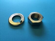 Daimler SP250 & V8250 Saloon Crankshaft Nut & Lock Tab Washer