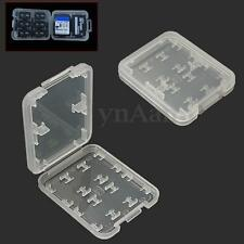 2pcs 8in1 Micro SD SDHC TF MS Memory Card Storage Box Container Holder Case