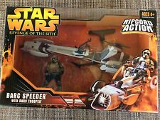 HASBRO STAR WARS EP3 ROTS BARC SPEEDER W/ RIPCORD ACTION NEW