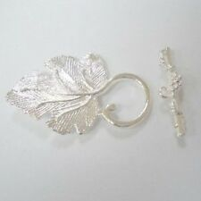 3 Sets Silver Tone Alloy Large Toggles Clasps - A6403