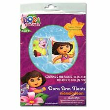 LOT 12 Dora The Explorer SWIM ARM BANDS FLOATS FLOATIES BIRTHDAY PARTY FAVORS 3+