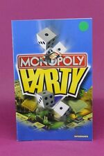 INSTRUCTION BOOKLET/MANUAL ONLY FOR MONOPOLY PARTY PS2 (NO GAME) ⭐OZ SELLER⭐ !!!