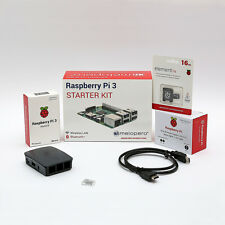 Raspberry Pi 3 Official Starter Kit Black 16 GB (M09)