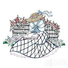 35 Stroll in the Garden Designs for Machine Embroidery