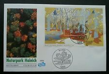 Germany National Parks 2000 Forest Tree Wildlife Flower Bird Cat Fauna (FDC)