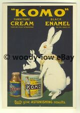 ad3412 - Komo - Furniture Cream & Black Enamel -  Modern Advert Postcards