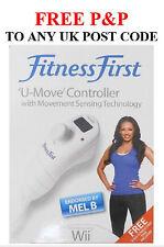 Juegos De Ejercicio Gimnasio primera U Move Controlador de movimiento Podómetro Wii Mel B Fit