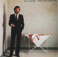 ERIC CLAPTON - Money and Cigarettes CD 24 bit Ry Cooder Donald D Dunn Albert Lee