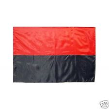 Ukraine Flag Ukrainian Insurgent Army UPA Red-Black Color Polister
