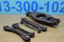 05-11 R171 MERCEDES SLK280 SLK350 REAR RIGHT PASS SIDE CONTROL ARMS 5 PIECE OEM