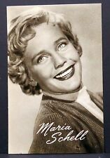 Maria Schell - AK - Foto Autogramm-Karte - Photo Postcard (Lot # F5734