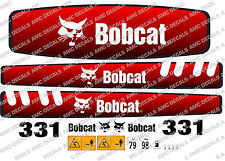 BOBCAT 331 MINI PELLE DECAL SET