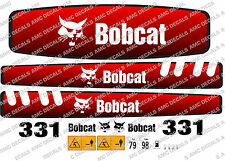 BOBCAT 331 MINI ESCAVATORE YANMAR SERIE DECALCO