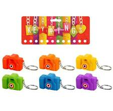 6pc Projection Simulation Camera Pretend Camera Keyring Animal Pictures