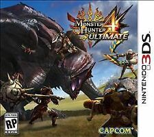 Monster Hunter 4 Ultimate (Nintendo 3DS, 2015) cartridge only