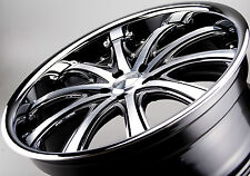22 inch Wheels OCTANE OC14 DEEP DISH Wheels Audi Q7, Holden, Jeep SRT,