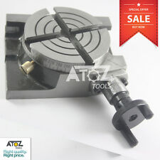 Atoz Rotary Table 3 Inches / 80mm Horizontal  Vertical Model Milling Machine New