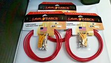 LAVA Cable RED Tightrope Solder-Free SUPER  Kit 30' Cable 30 RA Plugs