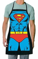 Creative Cartoon Anime Marvel Superman Super hero Cooking Funny Apron Gift