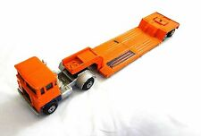 MATCHBOX SUPER KINGS K-23 LOW LOADER 1973 BY LESNEY MADE IN ENGLAND ORANGE USED