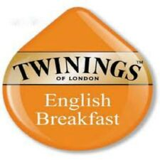 8 x Tassimo Twinings English Breakfast Tè Dischi T - 8 DRINK Loose T DISCHI NUOVO