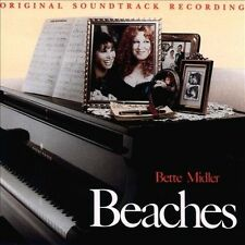 Beaches: Original Soundtrack Recording COMPACT DISC FREE SHIPPING