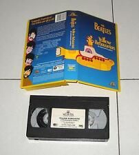 VHS The Beatles YELLOW SUBMARINE Ed italiana OTTIMO 1990