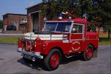 779078 1955 SWB land rover série un appliance de feu Industrielle A4 papier photo