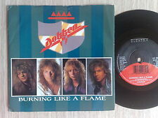 "DOKKEN - BURNING LIKE A FLAME - 45 GIRI 7"" ENGLISH PRESS"