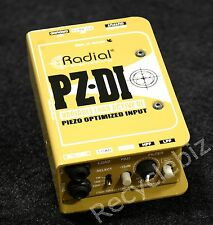 Radial Engineering PZ-DI Active Piezo Optimized Variable Load DI Direct Box