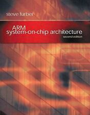 ARM System-On-Chip Architecture by Steve Furber (2000, Paperback, Revised)