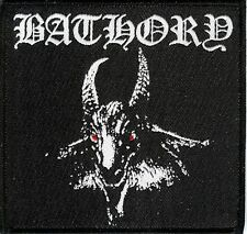 Bathory Goat Patch Quorthon Venom Black Metal Manowar Viking Amon Amarth