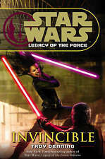 Star Wars - Legacy of the force- Invincible, Troy Denning, Good used Hardback