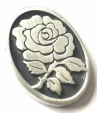 Yorkshire Rose Hand Made from English Pewter Pin Badge