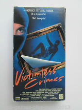 Dead Silence/Victimless Crimes (VHS, 1991) Promo Screener Double Feature (NTSC)