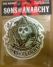"SONS OF ANARCHY ""CIRCLE REAPER"" VINYL CAR MAGNET 2013"