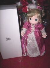 PRECIOUS MOMENTS DOLL OLIVIA FROM VICTORIAN SERIES 2ND IN SERIES 1998