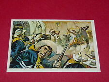 N°308 JOUR NOIR SIOUX CONQUETE DE L'OUEST WILLIAMS 1972 PANINI FAR WEST WESTERN