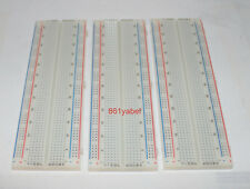 3X 830 Tie Points Contact MB-102 Solderless Breadboard Bread Board Protoboard