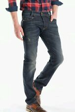 BNWT DIESEL W26 L32 Men's IAKOP 0R0JJ_STRETCH Distressed Regular Tapered Jeans