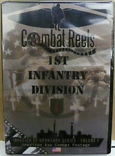 COMBAT REELS DVD 1ST INFANTRY DIVISION INVASION OF NORMANDY COMBAT FOOTAGE NEW