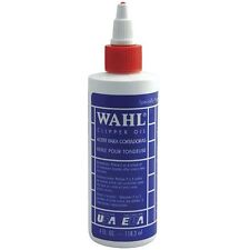 Wahl Clipper Oil 118ml 4 fl oz for Hair Clippers Trimmer Shaver Blade Lubricant